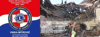 Българските Lions помагат на пострадалите от земетресенията в Хърватия