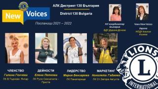Представяме New Voices 2021-22